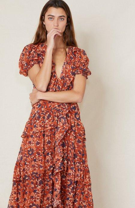 Ulla Johnson Delphine Maxi Dress - Poppy