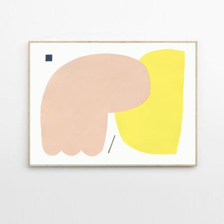 Wensi Zhai Warm Sad framed print