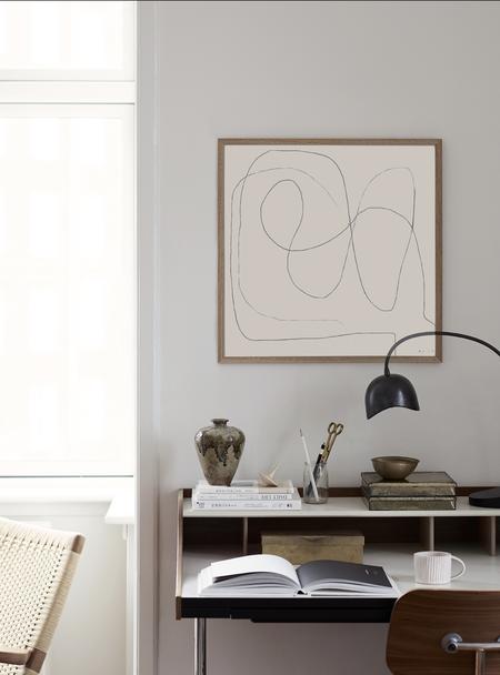 bycdesign Studio Figure 01 framed print