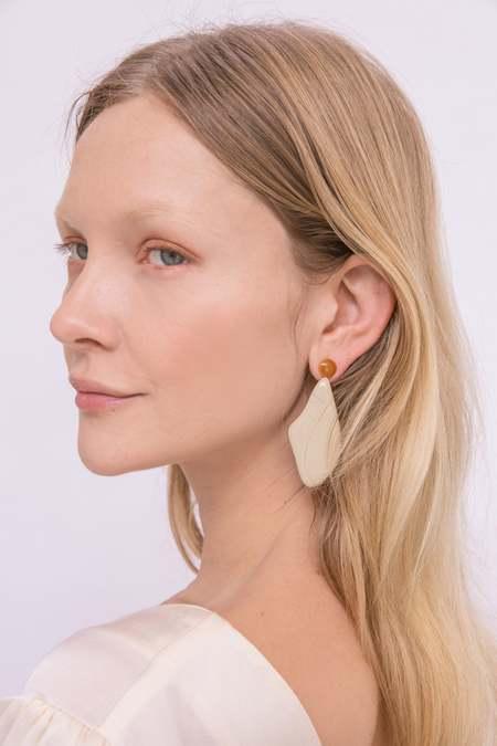 MATTER MATTERS Lima Earrings - Gold Plated/Enamel