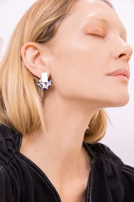 MATTER MATTERS Boha earrings - Snow