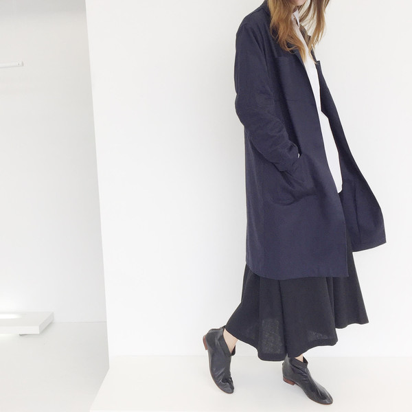 LLOYD Midnight Navy Factory Coat