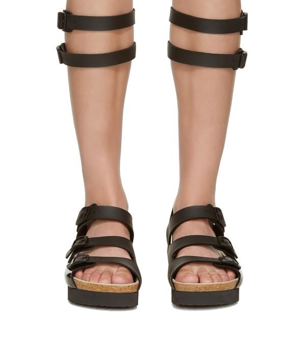 Sacai Luck Leather Multi-Strap Gladiator Sandal