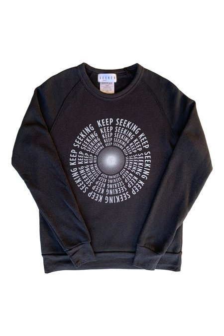 SEEKER Keep Seeking Sweatshirt - Black