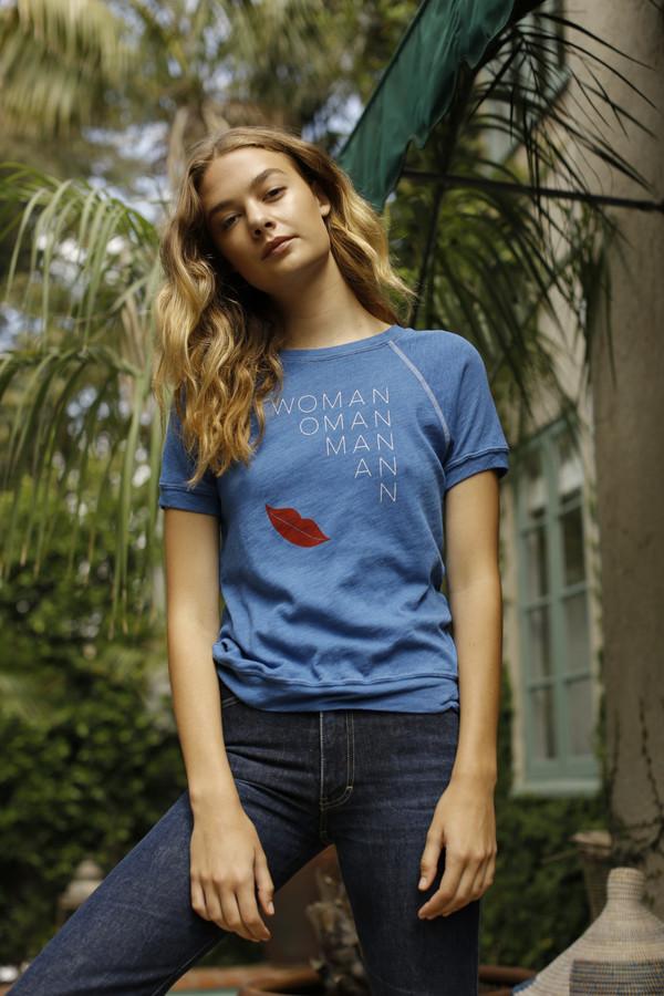 Calder Blake Rosalie Sweatshirt in Woman Print