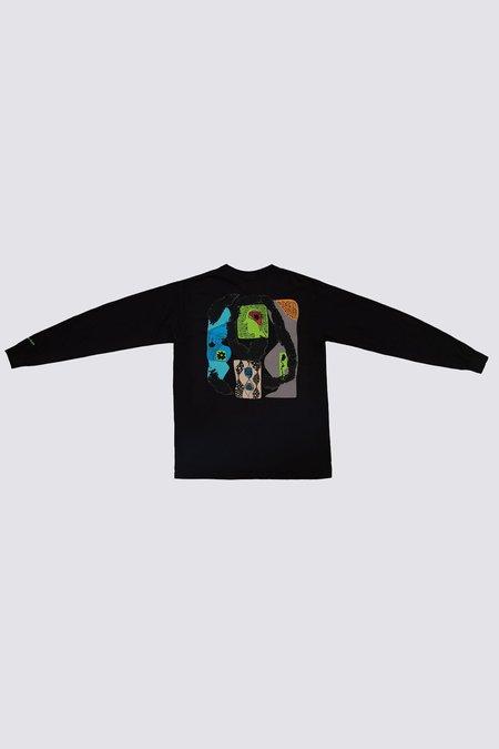 Unisex Silent Sound Lymphocytes Long Sleeve Pocket T-Shirt