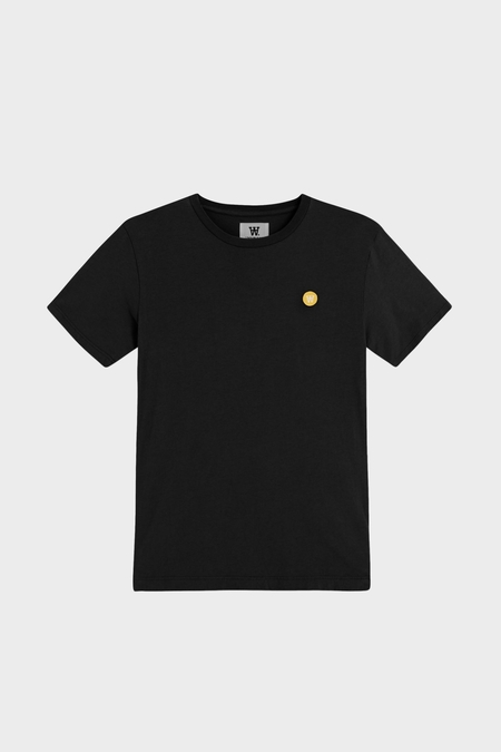 Wood Wood Ace Tee Shirt - Black