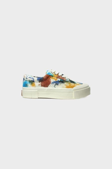 Good News Opal Tye Dye Sneakers - Navy/Brown