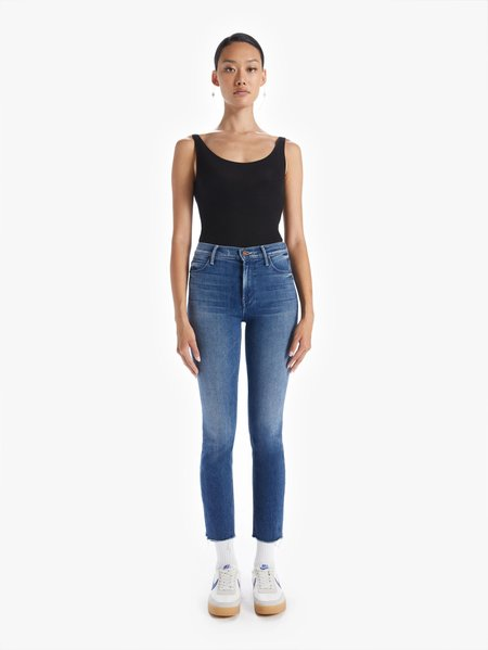 Mother Denim Dazzler Fray Crop jeans - We're All In This Together