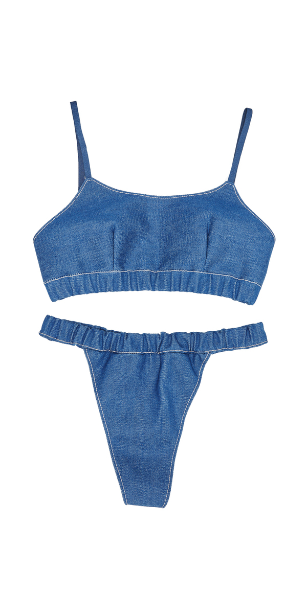 Collina Strada Maldives Bra- Denim