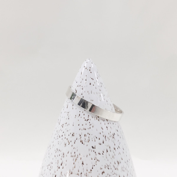 Lindsey Hampton Small White Speckled Cone
