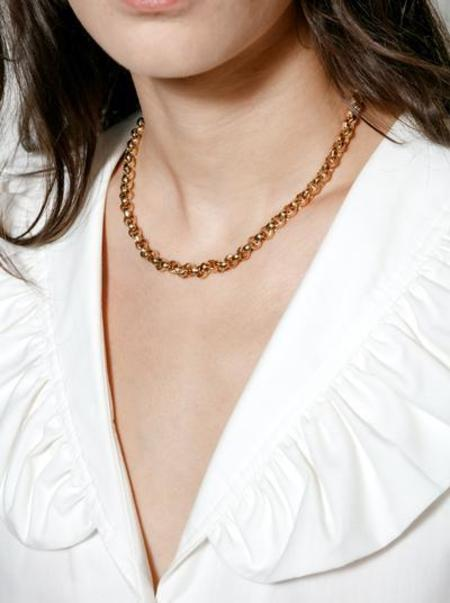 WOLF CIRCUS CAMDEN NECKLACE - 14k gold plated