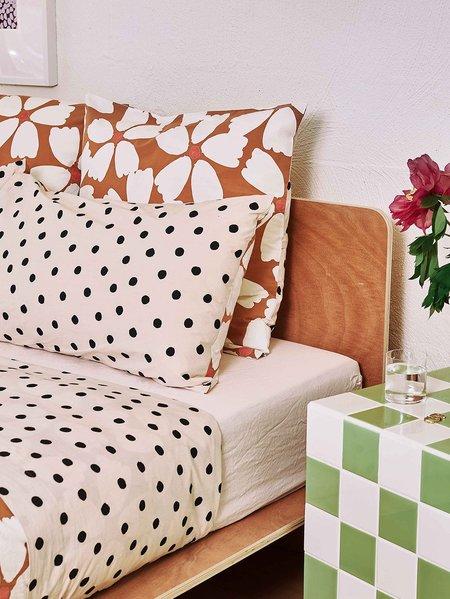 Mosey Me Full Bloom Euro Pillowcase set