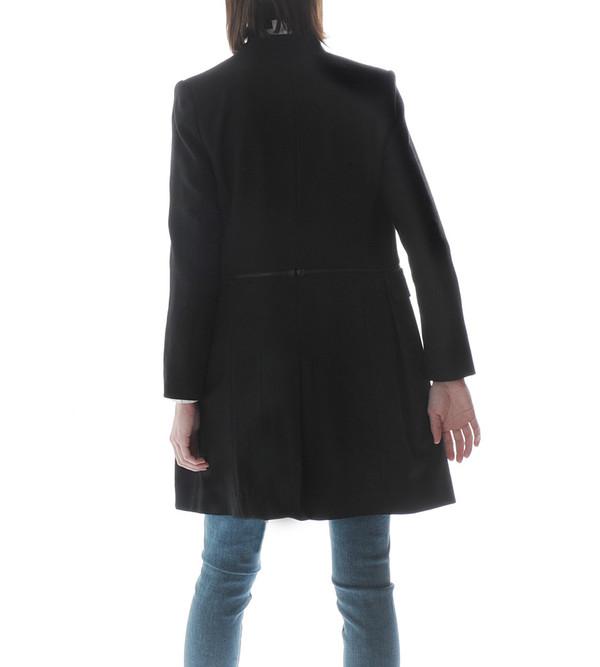 Public School Long Jacket with Waist Zipper