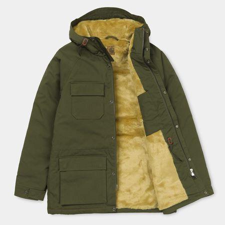 Carhartt WIP Mentley Jacket - Cypress Green
