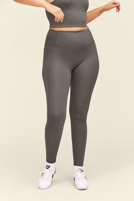 Girlfriend Collective Compressive High-Rise Legging - Moon