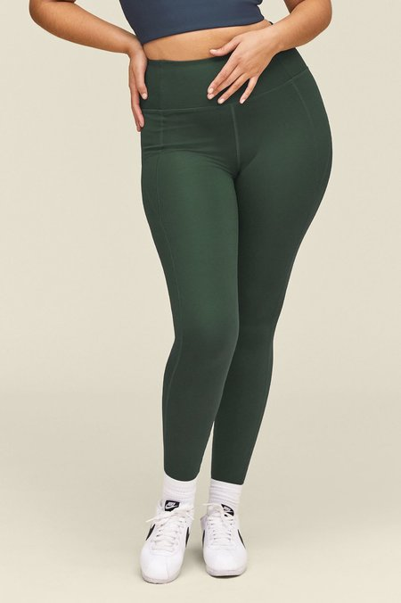 Girlfriend Collective Compressive High-Rise Legging - Moss