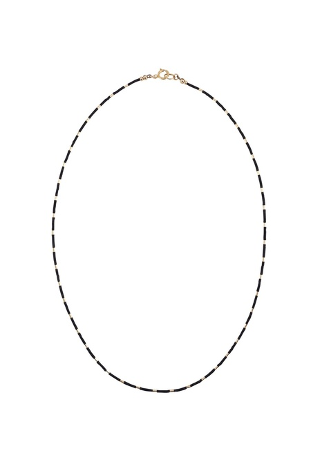 abacus row Sao Necklace - Ink