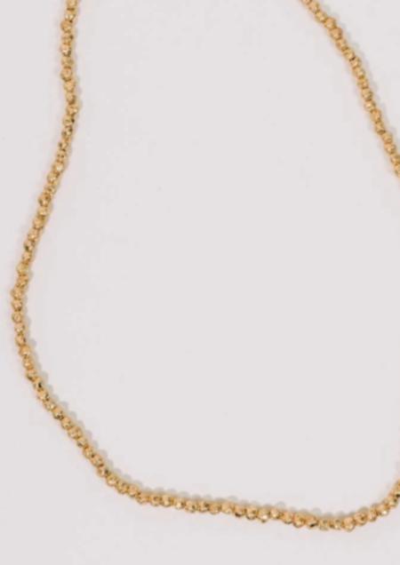 Half United Golden Nectar Necklace