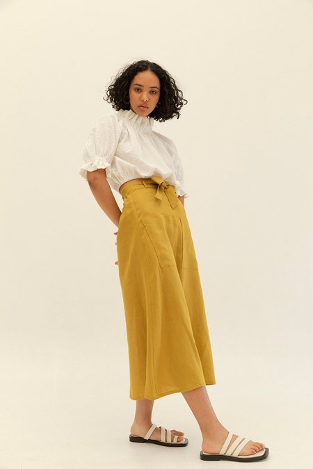 Muse the Label Holly Skirt - Pear