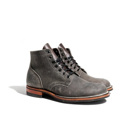 Viberg Service Boot CF Stead Boot - Anthracite Wax