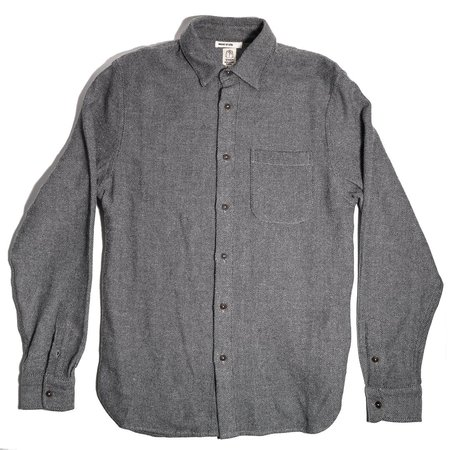 KATO The Ripper Shirt - Gray Birds