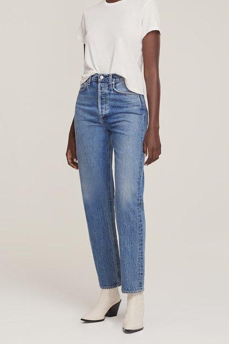 Agolde 90's Pinch Waist Jeans - Navigate
