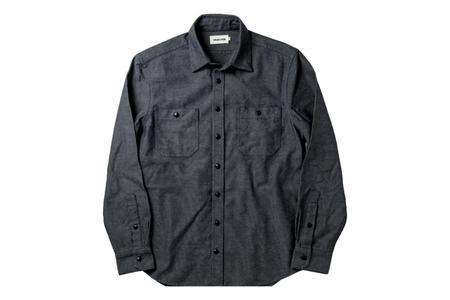 Taylor Stitch The Utility Shirt - Indigo Crosshatch