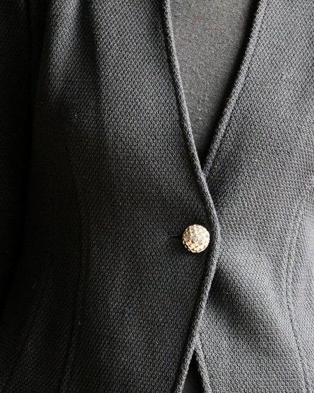 [pre-loved] St. John Caviar Knit Jacket - Black
