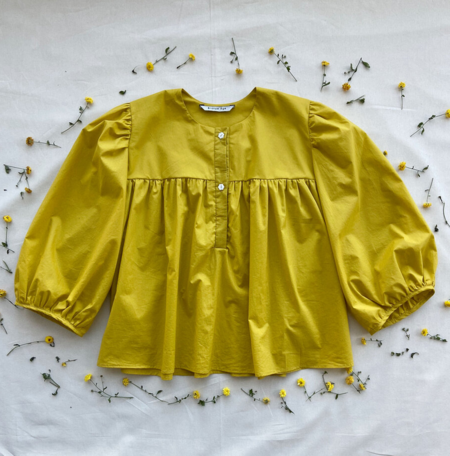 Bronze Age Posey Blouse - Sunflower
