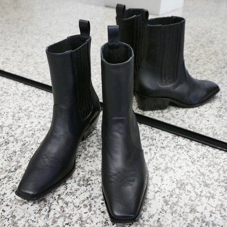 Mari Giudicelli Hyde Boots - Black Nappa