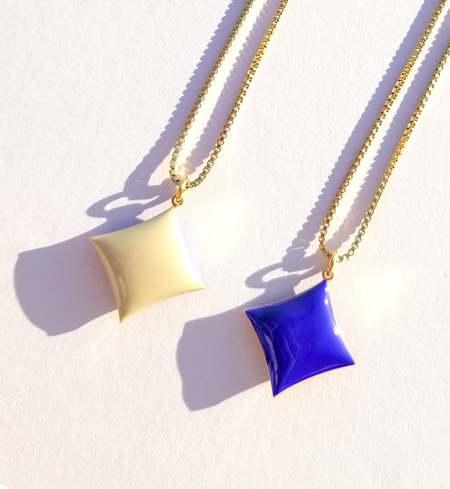 Matter Matters Diamond Necklace - Pastel