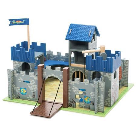kids le toy van excalibur castle - blue