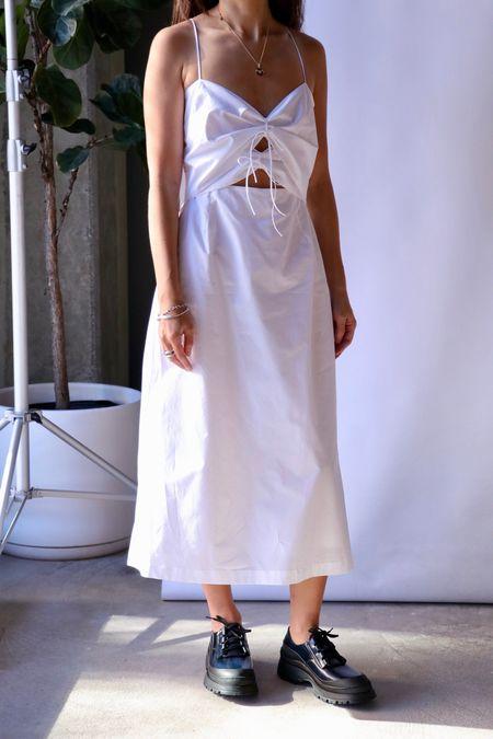 Rachel Comey Lovett Shoe - Blue Nappa Leather