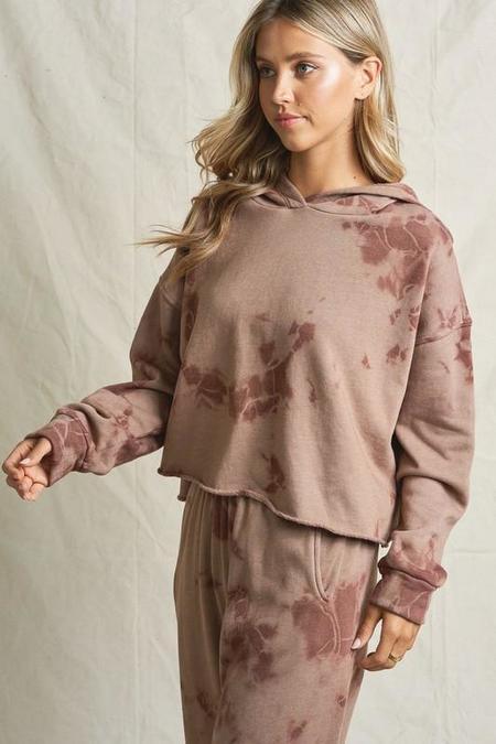 Maronie Tie Dye Sweatshirt - Cocoa