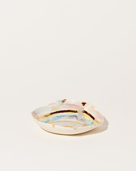 Minh Singer Small Dilapidated Prism Dish