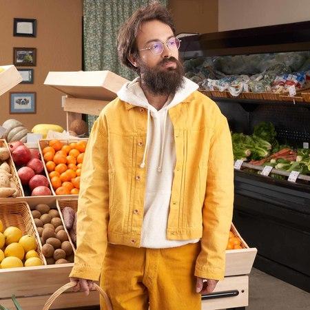 Unisex Story Mfg Sundae Organic Canvas Jacket - Jackfruit
