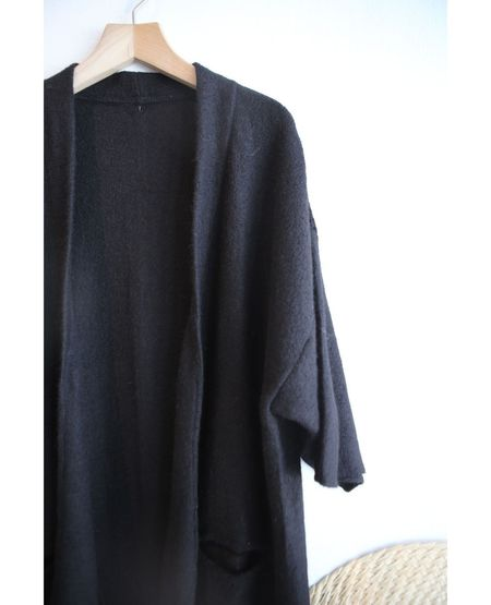 VOYAGER x MIA PERU Marisol Kimono - Black