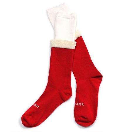 Doublet Jingle Bells Socks - red