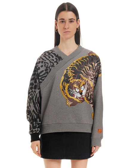 Kenzo Sweatshirt with Print - Gray