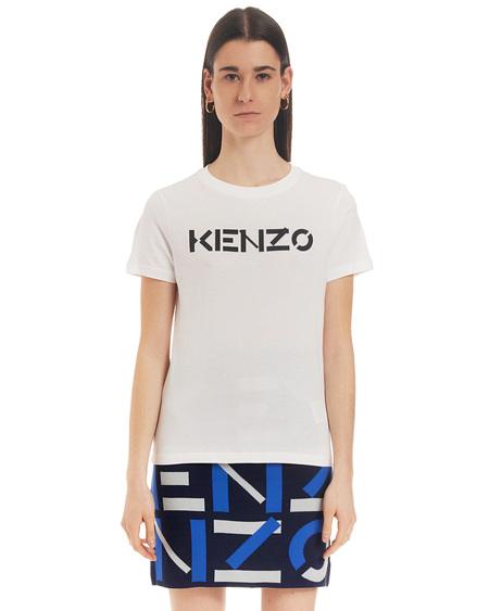 Kenzo T-shirt with Print - White