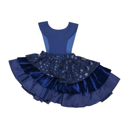 Kids Wauw Capow By Bangbang Copenhagen Fairytale Dress - Blue
