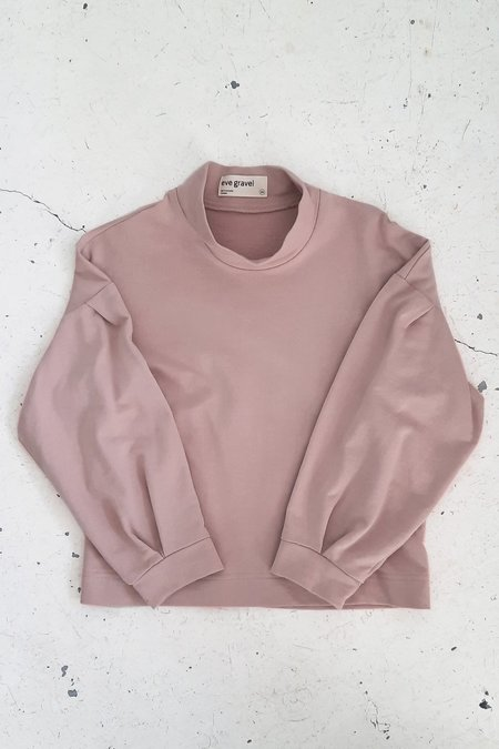 EVE GRAVEL CACTUS SWEATER - DUSTY PINK