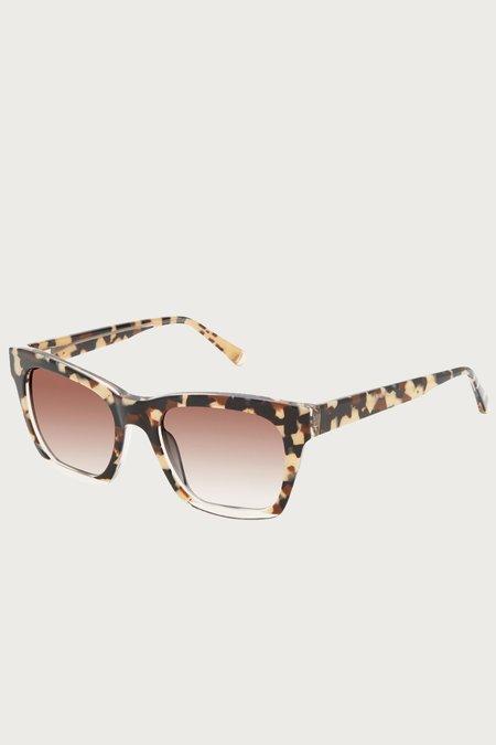 Kate Young for Tura Hana Sunglasses - Tortoise