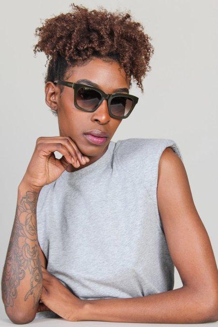 Kate Young for Tura Marley Sunglasses - Khaki