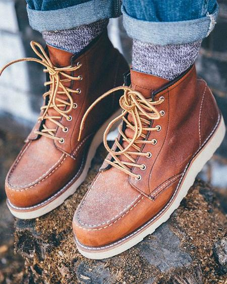 Red Wing Shoes Classic Moc Boot - Oro Legacy Leather