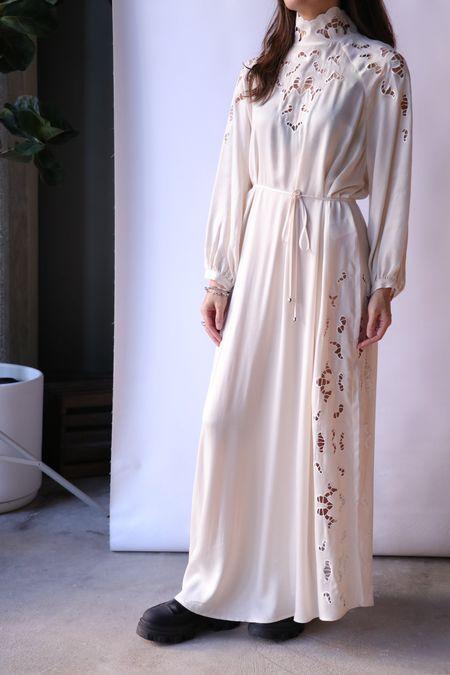 Rodebjer Anouska Dress - Ceramic White