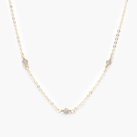 Able Halcyon Necklace - Labradorite