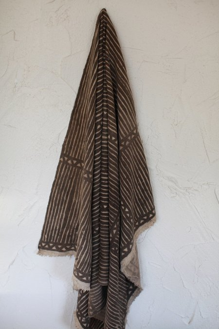 Vintage Antique Mudcloth Textile