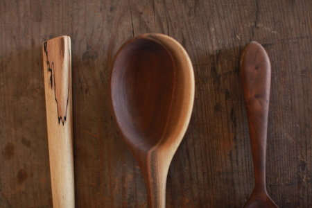 Bon Sinew Hand Carved Spoon